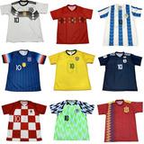 10 Camisetas De Time Atacado Seleçao Europeus 2019 Barato