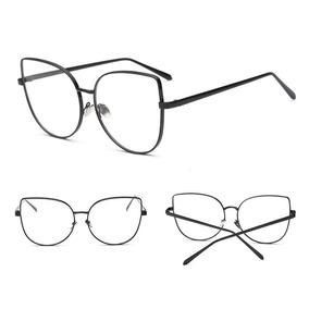 7a4d838fdf9e7 Armação Óculos Gatinho Cat Eye Preta Animal Print Leopardo - Óculos ...