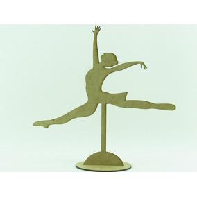 35 Bailarinas Espacate 25cm Em Mdf Cru Lembrancinhas Festas