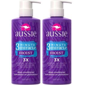 Kit 2 Máscara Aussie Moist 475ml