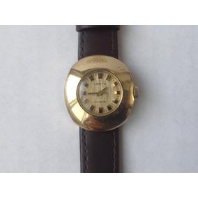 Reloj Haste Mini Cuerda Funcionando Bien. Chapa De Oro 60