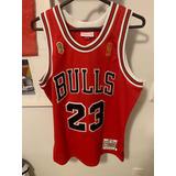 Camiseta Uniforme Nba Chicago Bulls Mitchell & Ness Original