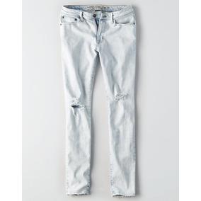 Jeans American Eagle Hombre Ceñidos Skinny Tallas: 34,36,38