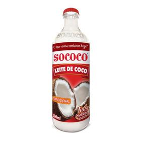 Leite De Coco Sococo 500ml Kit Com 12 Unidades