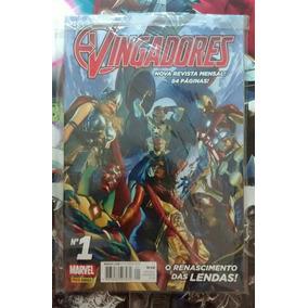 Vingadores Vol 1 Nova Série Pós Guerras Secretas