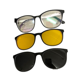 Armacao De Oculos De Grau Rayban Paris - Óculos no Mercado Livre Brasil 6f51906082