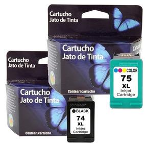 Par De Cartucho 74 + 75 Impressora C4480 C4280 J5780 S