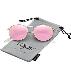 551181544e Sojos Gafas De Sol Unisex Pequeñas Redondas Vintage Lentes