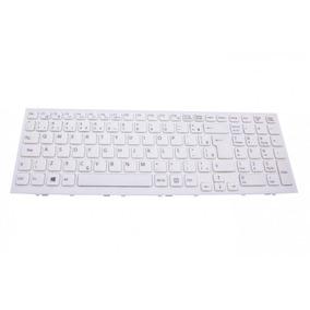 Teclado Para Notebook Sony Vaio Pcg-61611x | Branco