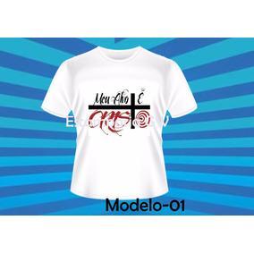 Camiseta Gospel Evangélica  Meu Alvo É Cristo - Camisetas e Blusas ... bf78f991240