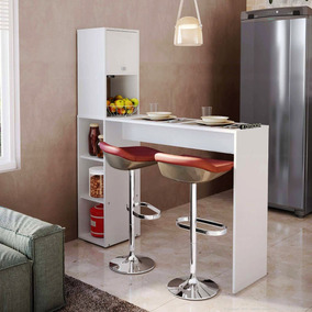 Mueble Desayunador Barra Divisor Cocina