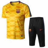 Conjunto Do Barcelona Treino - Futebol no Mercado Livre Brasil b5328ad29e1b6