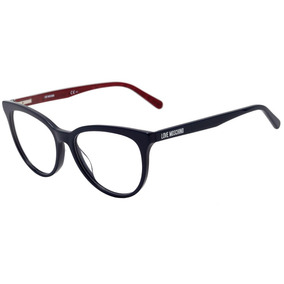 Love Moschino Mol519 - Óculos De Grau Pjp 16 Azul E Vermelho 9370f3b639