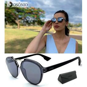 081a785c57bb8 Oculos Sol Solar Polarizado Feminino Os95 Original Redondo