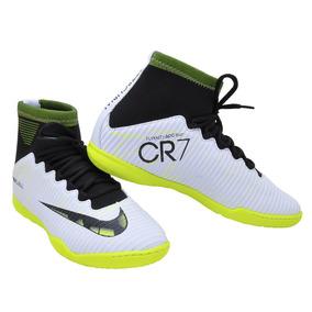 7b2458a8b05e2 Chuteira Nike Futsal Cr7 Com Meia - Chuteiras Amarelo no Mercado ...