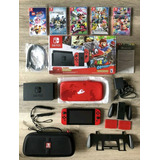 Nintendo Switch Super Mario Odissey Edition + Extras