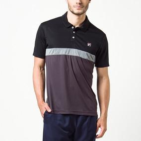 Camisa Polo Fila Block Melange 2 - Original 8d62f5b9b9217
