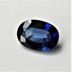Raríssima Safira Azul Da Caxemira Pedra Preciosa/ 8,03 Cts