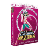 Box Cavaleiros Do Zodiaco Serie Classica Remasterizada Vol.4