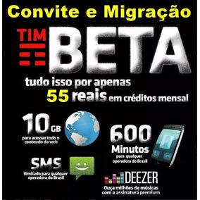 Convite Tim_beta - Convite Via Face