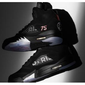 new product 0e0e9 ae588 Zapatillas Nike Air Jordan 5 Psg Black Tallas  40-46