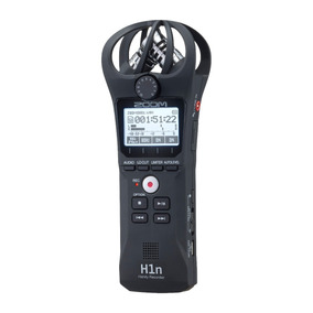 Gravador Digital Zoom H1n, Profissional Stereo Recording.