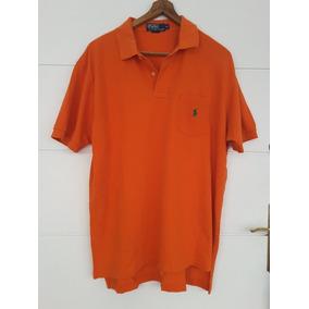 Chomba Remera Polo Hombre Naranja Xl Bolsillo M corta b7351e2e4b38c