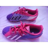 Zapatos Fútbol adidas De Tacos Niños Talla 32 Messi Original
