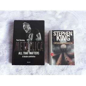 Livro Metallica - Livro Stephen King - Lote Com 2