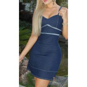 0b61fbf4ac Vestido Jeans Laycra -miragem - Exata Brasil