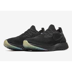 8573aa90b9c23 Zapatillas Nike Epic React Flyknit Betrue Negro Nuevo 2018