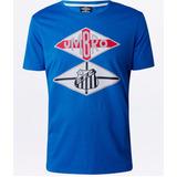 52a1da2ae8 Camisa Santos Azul Umbro - Futebol no Mercado Livre Brasil