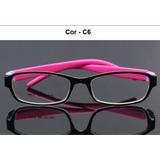 Armação Flexível Infantil Tr90 Óculos De Grau 6 A 8 Anos 79aba5c2ca