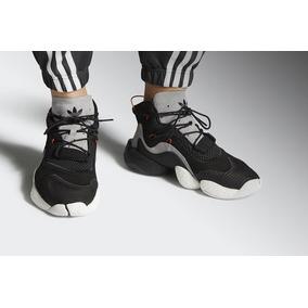 the latest 21235 a47d6 Tenis adidas Crazy Byw Lvl 1 Black Carbon 100% Originals
