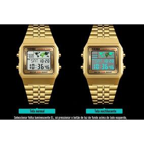 7414de86e8b Relogio G Shock Quadrado - Relógio Masculino no Mercado Livre Brasil