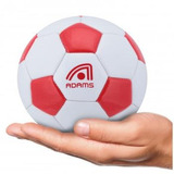 Minibola De Futebol De Campo Adams Classic - Branco vermelho 6e1c917f99f6b