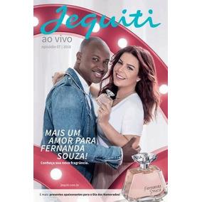 Revista Jequiti Capa Catálogo Fernanda Souza E Thiaguinho