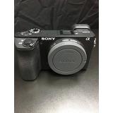 Sony A6500 Corpo - Seminovo 12x Sem Juros