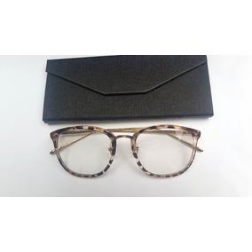 Óculos Armação De Grau Feminino Redondo Geek Metal - Óculos no ... f000d66f97