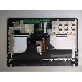 Carcaça Com Teclado + Touchpad Do Notebook Asus Q400a