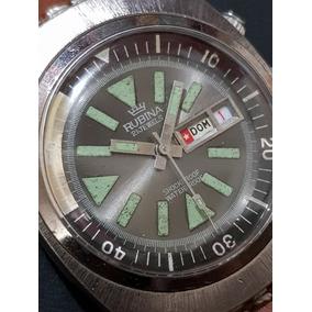 Reloj Diver Vintage Marca Rubina ...de Colección!