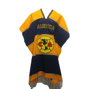 Gaban Poncho Jorongo Sarape Capa Club América