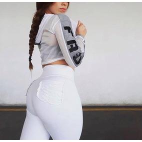 Leggings Pocket Colombiano Supplex Efecto Push Up Insane Fit