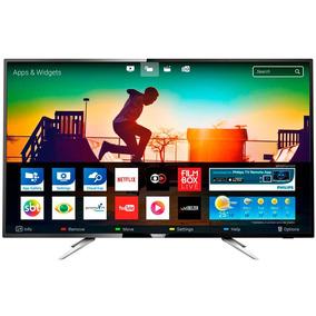 Smart Tv Led 50 Philips 50 Polegadas 4k Uhd Conversor Digita