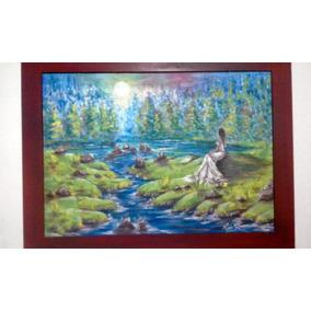 Cuadro Pintura Acriñico Sobre Lienzo (65cm X51cm) Remate