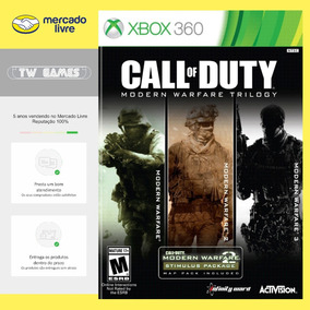 Trilogia Modern Warfare 1 2 E 3 Digital Xbox 360 Xbox One