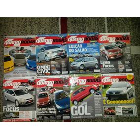 Lote Revista 4 Rodas Ano 2008 13 Edições