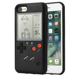 Funda Case Game Boy Negr Iphone 678x Plus + Cristal + Pila