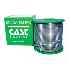 Solda Em Fio Cheio 1,50mm 40x60 235 Msy - Cast Soldas
