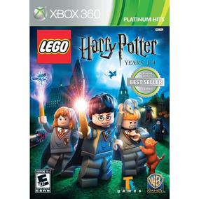 Harry Potter Lego Years 1 - 4 Xbox 360 Novo Nota Fiscal